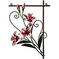 Deco Breeze Metal Tiger Lily Wall Decor