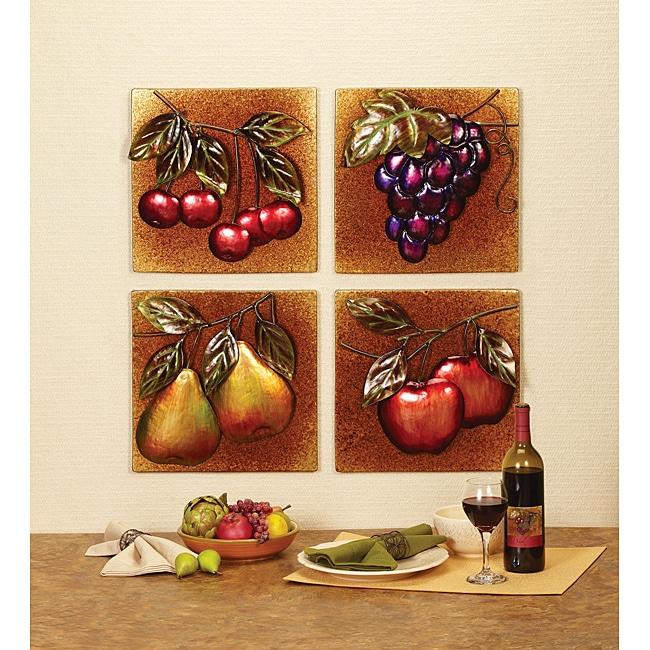 Deco Breeze Apples Wall Decor