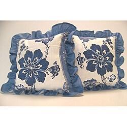 Liberty Floral Ruffled Pillows (Set of 2)