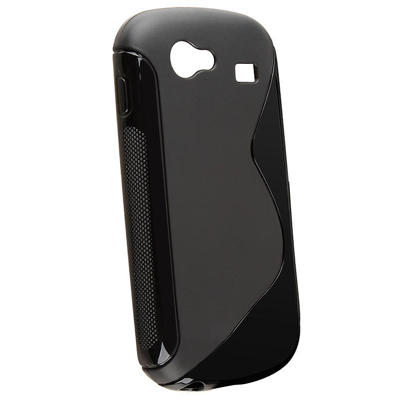 Black TPU Rubber Case for Samsung Google Nexus S