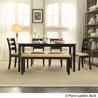 Wilmington Black Dining Set by iNSPIRE Q Classic (2 options available)
