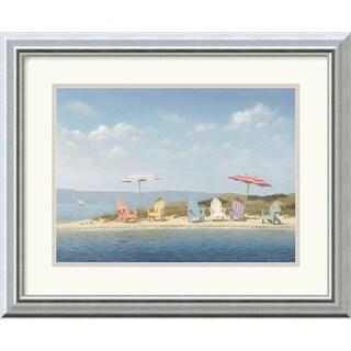 Framed Art Print 'Summer Colors' by Daniel Pollera 20 x 16-inch
