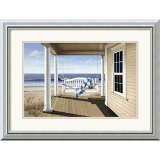 Daniel Pollera 'Soft Winds' 20 x 16-inch Framed Art Print