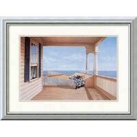 Framed Art Print 'A Summer Place' by Daniel Pollera 20 x 16-inch