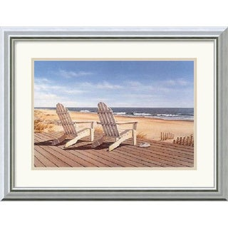 Framed Art Print 'Point East' by Daniel Pollera 20 x 16-inch
