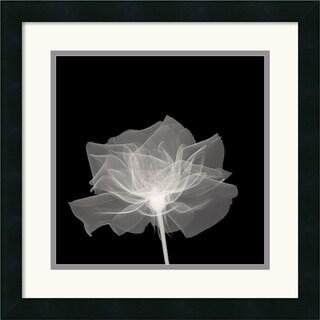 Layered Veil' 18 x 18-inch Framed Art Print