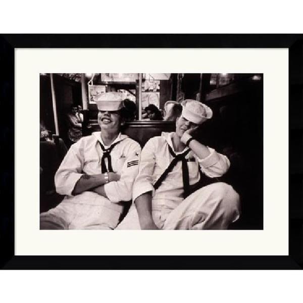 Harold Feinstein 'Floppy Sailors' Framed Art Print