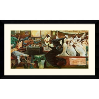 Frank Morrison 'Preach on Preacher' 43 x 26-inch Framed Art Print