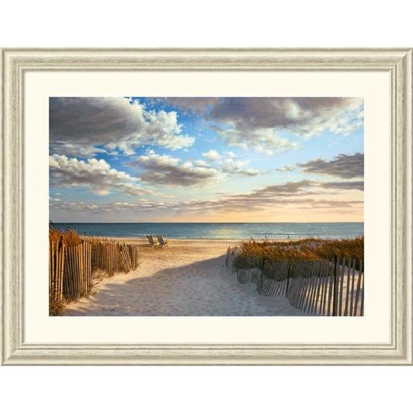 Shop Framed Art Print Sunset Beach By Daniel Pollera 45
