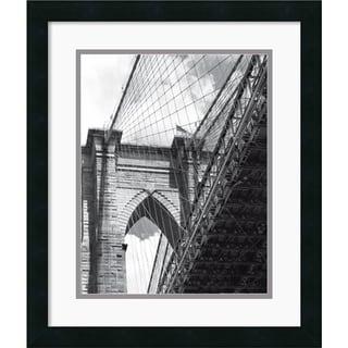Phil Maier 'Under the Brooklyn Bridge' 17 x 20-inch Framed Art Print