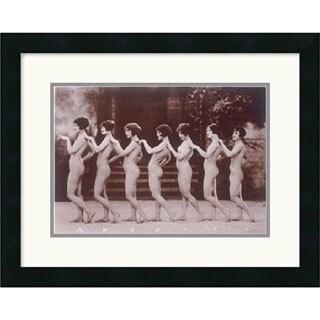 Albert Arthur Allen 'Chorus Line' 21 x 17-inch Framed Art Print