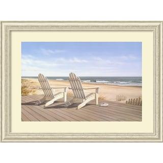 Framed Art Print 'Point East' by Daniel Pollera 40 x 30-inch