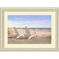 Framed Art Print 'Point East' by Daniel Pollera 40 x 30-inch