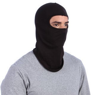 Kenyon Men's Black Silk-weight Balaclava