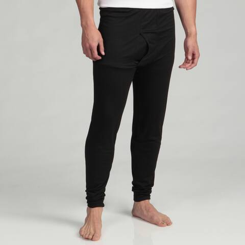 Kenyon Men's Outlast Black Lightweight Thermal Underwear Bottoms