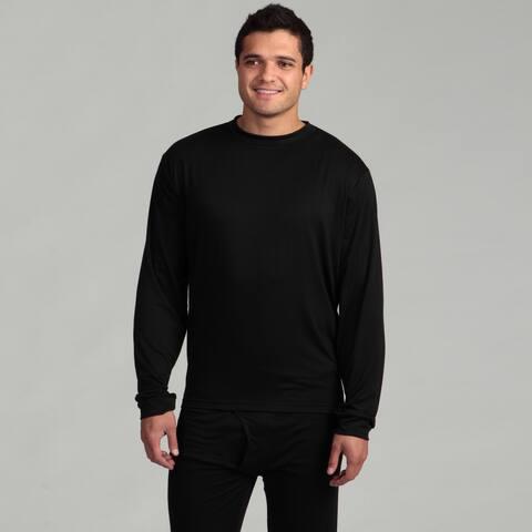 Kenyon Men's Outlast Black Lightweight Thermal Underwear Crew Top
