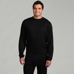 Kenyon Men's Outlast Black Lightweight Thermal Underwear Crew Top