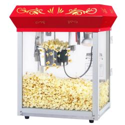 Great Northern 6131 Popcorn All Star Countertop Red Popcorn Machine - Thumbnail 1