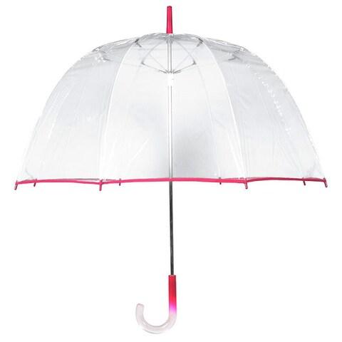 Tina T Bubble Clear/ Pink Umbrella