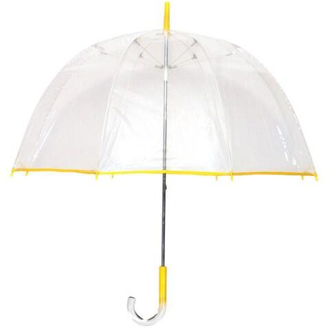 Tina T Bubble Clear/ Yellow Umbrella