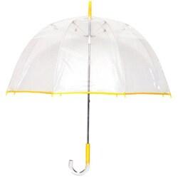 Tina T Bubble Clear/ Yellow Umbrella|https://ak1.ostkcdn.com/images/products/6113127/Tina-T-Bubble-Clear-Yellow-Umbrella-P13779211.jpg?_ostk_perf_=percv&impolicy=medium