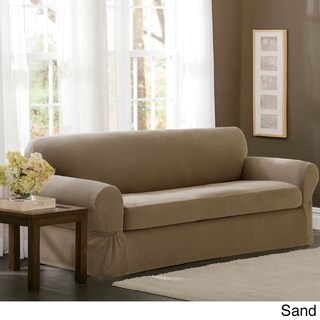 Maytex Stretch 2-piece Pixel Sofa Slipcover (4 options available)