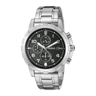 Fossil Men's FS4542 'Dean' Stainless Steel Chronograph Watch|https://ak1.ostkcdn.com/images/products/6113371/P13779392.jpg?_ostk_perf_=percv&impolicy=medium