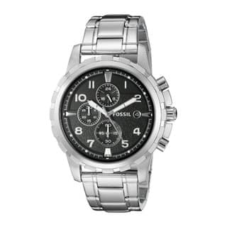 Fossil Men's FS4542 'Dean' Stainless Steel Chronograph Watch|https://ak1.ostkcdn.com/images/products/6113371/P13779392.jpg?impolicy=medium