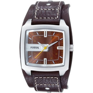 Fossil Men's JR9990 'Trend' Brown Leather Watch