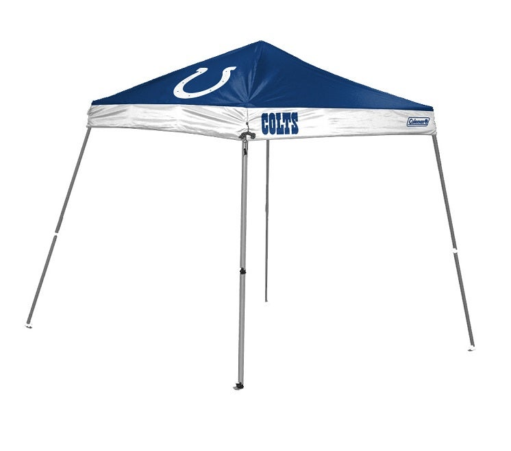 half off b6010 ce443 Coleman Indianapolis Colts Tailgate Canopy Tent Gazebo