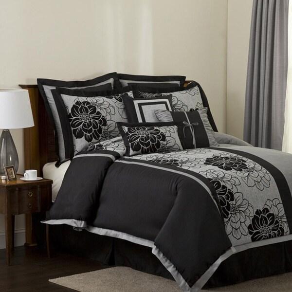 Lush Decor Pasadena 8-piece Full-size Comforter Set