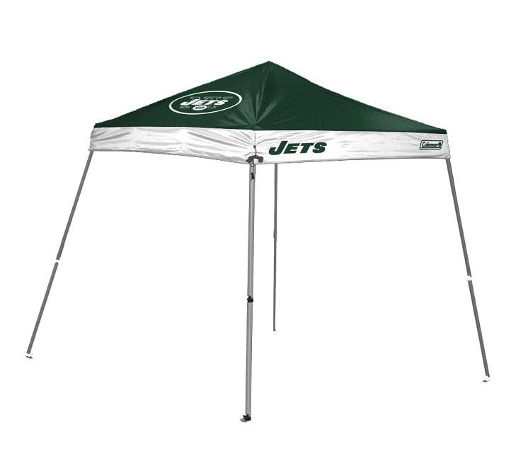 Coleman New York Jets 10x10-foot Tailgate Canopy Tent Gazebo