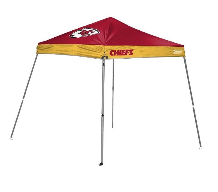 Coleman Kansas City Chiefs 10x10 Foot Tailgate Canopy Tent