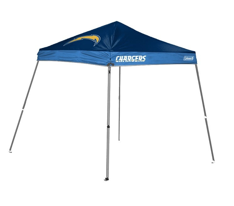 Coleman San Diego Chargers 10x10-foot Tailgate Canopy Tent Gazebo