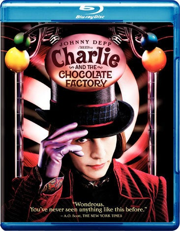 Charlie and the Chocolate Factory (Blu-ray Disc)