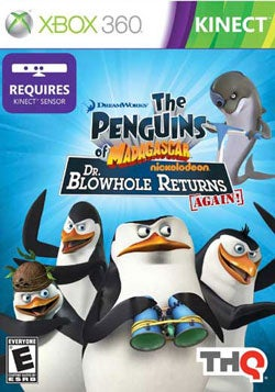 Xbox 360 - Penguins Of Madagascar: Dr. Blowhole Returns Again (Kinect)