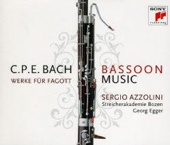 SERGIO AZZOLINI - C.P.E. BACH: BASSOON MUSIC/WERKE FUR F