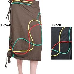 Lakhays Rasta Swirl Skirt (Nepal)