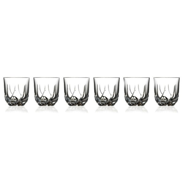 RCR Crystal Trix Collection Double Old Fashion Glasses (Set of 6)
