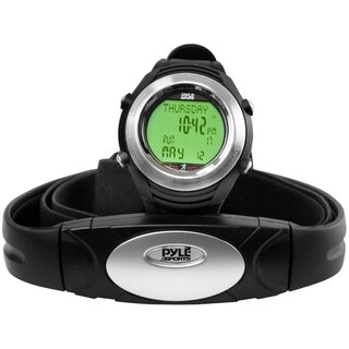 Pyle PHRM20 Heart Rate Monitor Watch With Calorie Counter & USB PC
