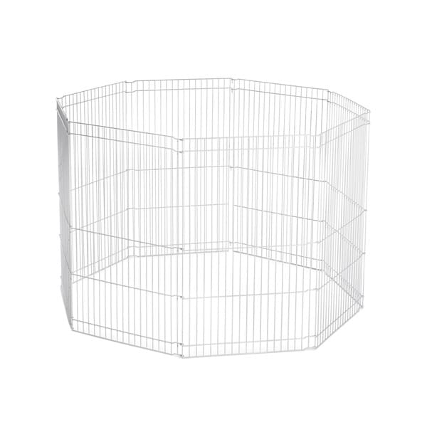 prevue pet products white ferret playpen - free shipping today - overstock com