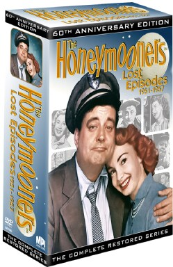 Honeymooners Lost Episodes 60th Anniversary Edition: The Complete Restored Series (DVD)