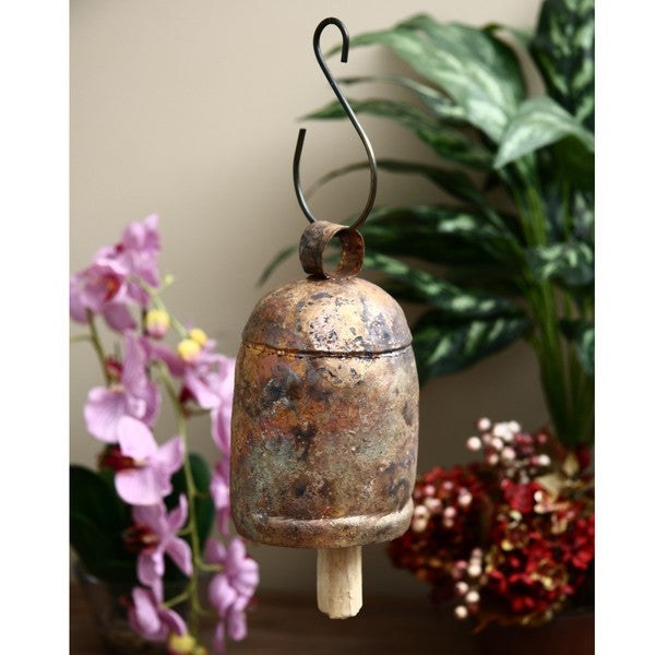 Handmade Copper and Brass Nana Bells (India)