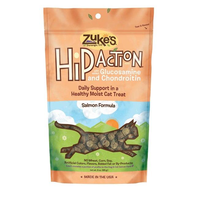 Zuke S Hip Action Treats Cat Salmon - 99514