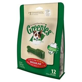 GREENIES Dental Chews for Dogs 25 - 50 lbs 12 oz