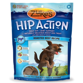 Zuke S Hip Action Beef Dog Treats