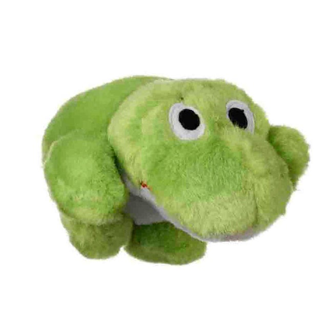 Multipet International Look Who's Talking Frog Dog Toy, G...