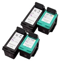 Sophia Global Remanufactured HP 96 and HP 97 Black and Color Ink Cartridges (Pack of 4)