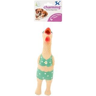 Grandma Hippie Chick Dog Toy - Multi