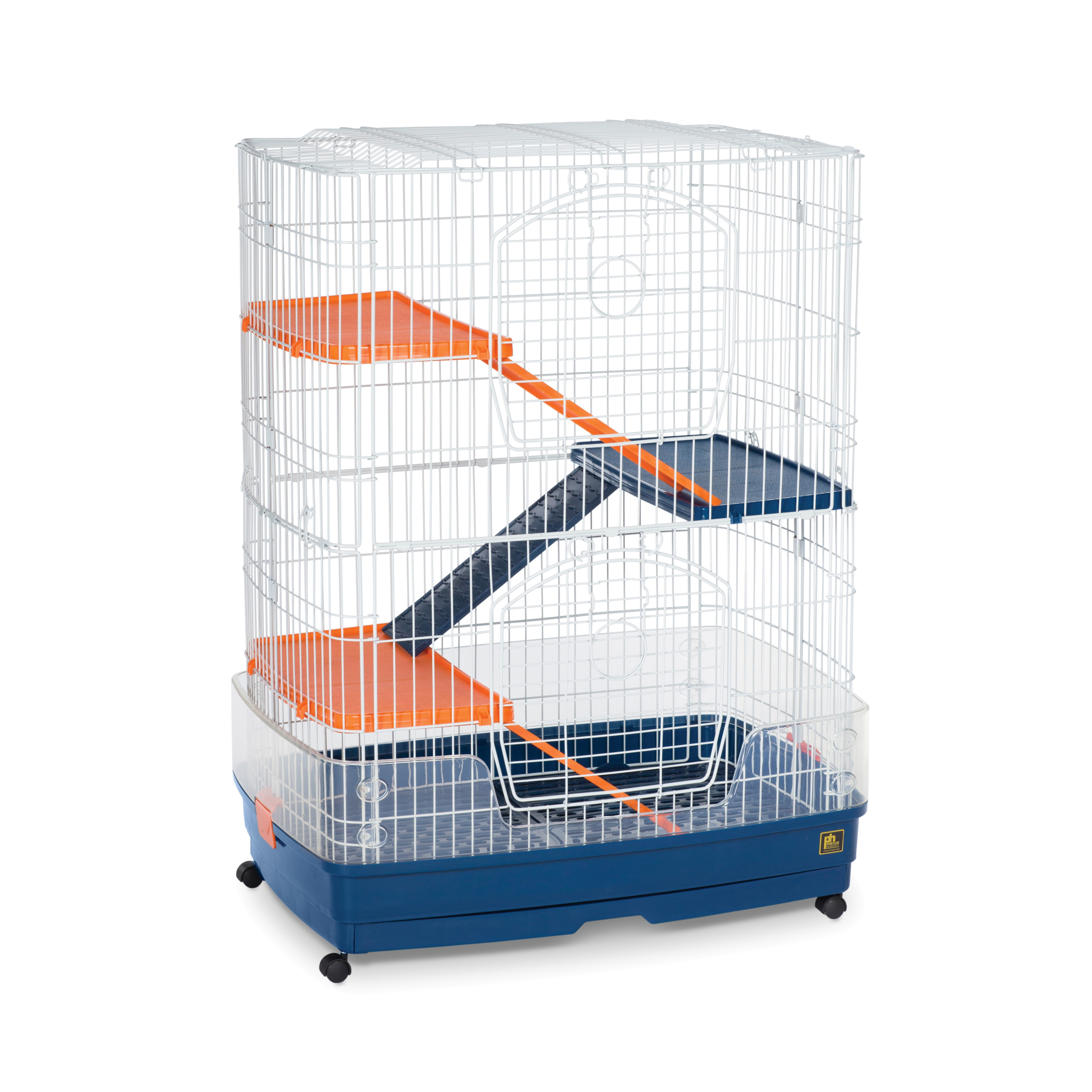 Prevue Pet Products 4-Story Ferret Cage, Grey metal